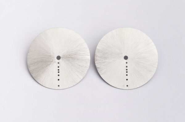 Cser08 1silver Earrings Shine